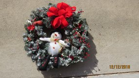 Snowman Wreath in Byron, Georgia