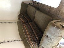 Green Couch in Travis AFB, California