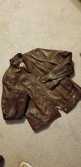 Coach Leather Moto Jacket Size 8 in Fort Campbell, Kentucky