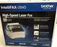 "BROTHER INTELLIFAX-2840 ""BRAND NEW"" in Elgin, Illinois"