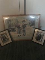 3 framed prints for child's room in Oceanside, California