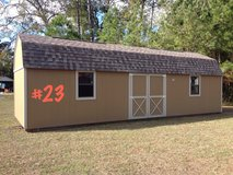 12x32 Lofted Barn Shed Storage Building DISCOUNTED!!! in Moody AFB, Georgia