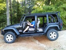 Armored Jeep Wrangler Unlimited Sport 4x4 (w/2-tops) in Fort Bragg, North Carolina