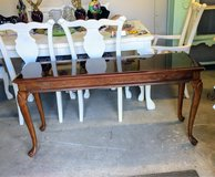 solid cherry wood sofa table in Cherry Point, North Carolina