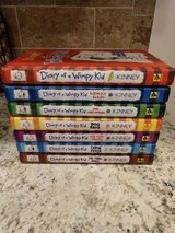Diary of a Wimpy Kid Volume 1-7 Hard Cover Books in Fort Drum, New York