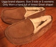UGG SLIPPERS worn only a few times! in Dothan, Alabama