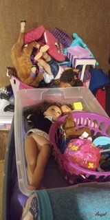 My Life Doll collection in Fort Polk, Louisiana