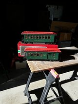 Model train cars, G gauge in Vacaville, California