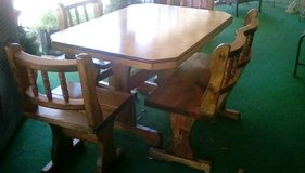 Table with bench and  3 chairs. Exc.cond. in Leesville, Louisiana