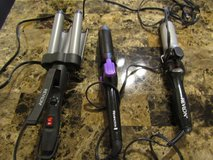 2 curling Irons and 1 wave Ironn $5 for all 3 in Fort Leonard Wood, Missouri
