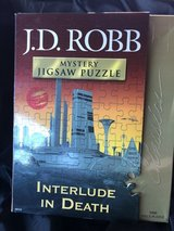 J.D. Robb Mystery  1000 pc Jigsaw Puzzle Interlude In Death in bookoo, US