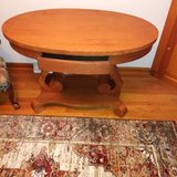 Unique Oval Shaped Table in Yorkville, Illinois