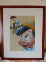 Pinocchio Framed Wall Art in Chicago, Illinois