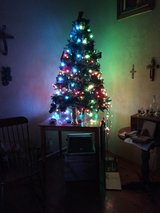 6 foot green Christmas tree in Fort Bliss, Texas