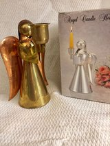 COPPER AND BRASS CANDLE HOLDER in Lockport, Illinois