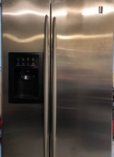 GE Profile Arctica side by side refrigerator in Yorkville, Illinois