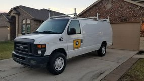 2008 EXTENDED Ford Eco-250 Cargo Van in Kingwood, Texas