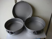SET OF THREE CAKE PANS in Chicago, Illinois