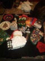 VARIETY OF XMAS DECOR NEW, USED, AND RARE SELLING AS A LOT TAKE ALL 40.00 in Yucca Valley, California