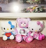 Build a bear and 2 Hello Kitty Plushes in Joliet, Illinois
