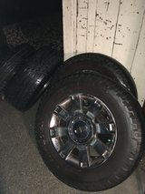 """Lincoln Navigator or Ford Navigation OEM Chrome 18"""" wheels + Nitto tires in Vacaville, California"""
