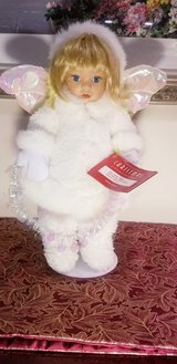 House of Lloyd Christmas Snow Drop Doll White Angel in Joliet, Illinois