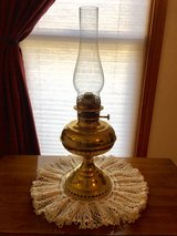 Brass Hurricane Lamp in Westmont, Illinois