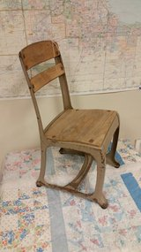School house childs chair in Plainfield, Illinois