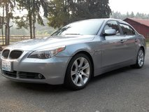 2005 BMW 545i - Low Miles - Clean in Fort Lewis, Washington
