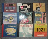 records 78 rpm albums in 29 Palms, California