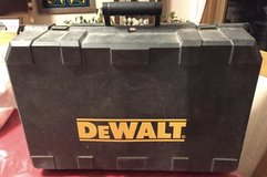 """DeWalt 18 V. Cordless Power Tool Set  Includes ½"""" Drill/Driver/Hammer Drill, Reciprocal Saw,  C... in Plainfield, Illinois"""