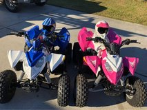 2  ATV'S Polaris outlaws 90cc 4 Wheelers in The Woodlands, Texas