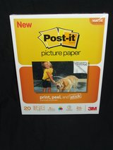 Post-it Picture Paper 8.5 x 11 Matte Finish 20 Sheets / Pack NEW by 3M in St. Charles, Illinois