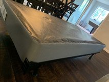 Twin Size Box Spring and Frame in Vacaville, California