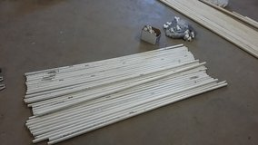 half inch schedule 40 PVC, five foot sections  30 of them in Fort Leonard Wood, Missouri
