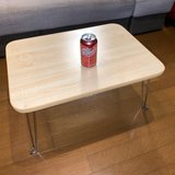 Small folding short table 4-legs in Okinawa, Japan