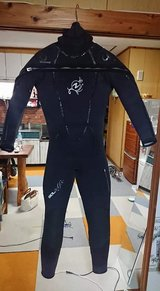 Aqualang Afx semi dry suit in Okinawa, Japan