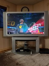 """60"""" Panasonic HDTV and stand in Chicago, Illinois"""