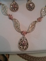 Necklace and earrings in Naperville, Illinois