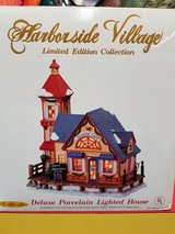 Harborside Village Seaside Cafe Lighted House in Camp Lejeune, North Carolina