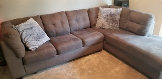 Dark gray L shape couch in Vacaville, California