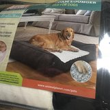Dog  Bed    Large memory Foam Lounger in Macon, Georgia