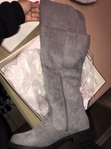 gray over the knee boots in Hinesville, Georgia