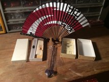 Japanese Fan & Stands in bookoo, US