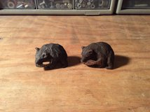 Hand Carved Wooden Bears in bookoo, US