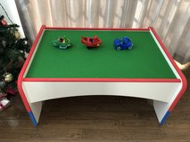 Kid's play table for trains / cars / blocks in Okinawa, Japan