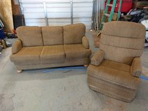 HIDE A BED COACH AND ROCKER-RECLINER in Alamogordo, New Mexico