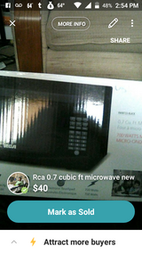 Brand new RCA microwave in box in Hinesville, Georgia