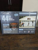 "44"" Basketball backboard and ring in Lockport, Illinois"