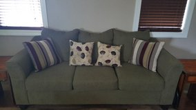 Like new Couch only 2 years old bought new and stress less chair in Camp Lejeune, North Carolina